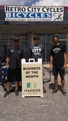 Retro City Cycles - Ivanhoe Village Business of the Month