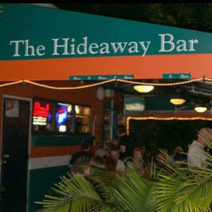 Hideaway Bar - Ivanhoe Village Orlando Florida