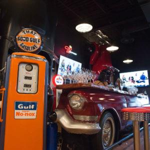M Bar and classic cars - Ivanhoe Village - Orlando FL