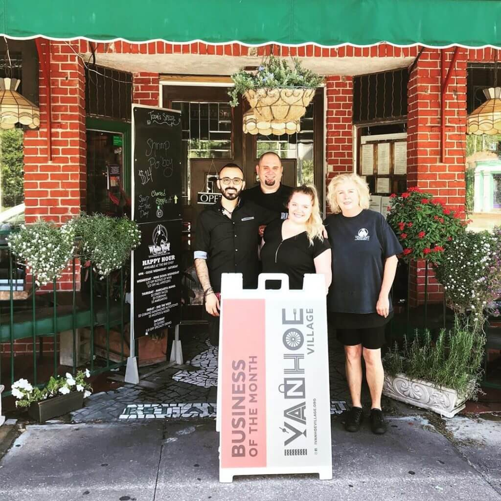White Wolf Cafe - Ivanhoe Village Business of the Month - May 2019