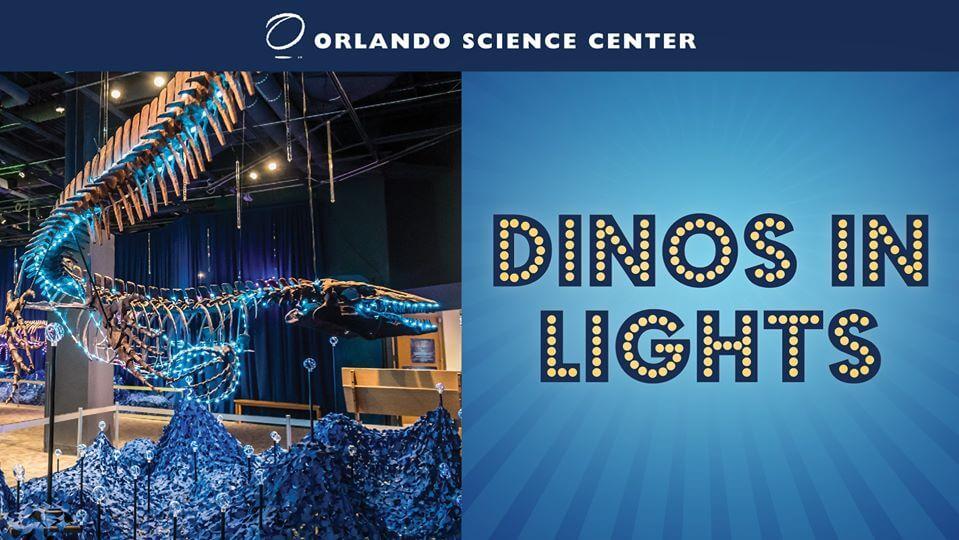 Dinos in Lights banner