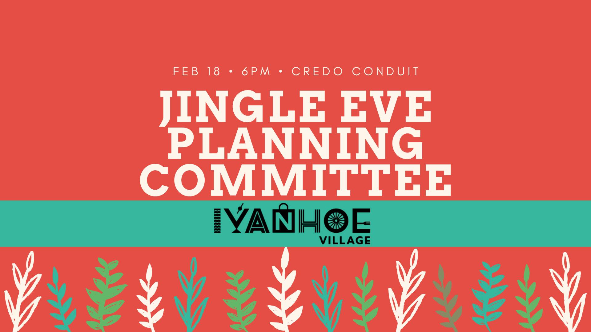Jingle Eve Planning Committee Banner