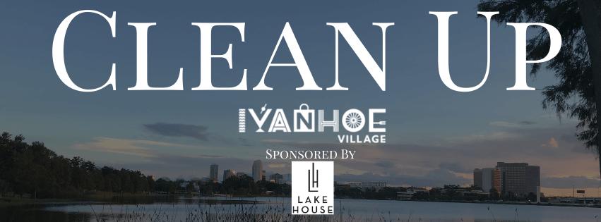 Clean Up Ivanhoe Village Banner