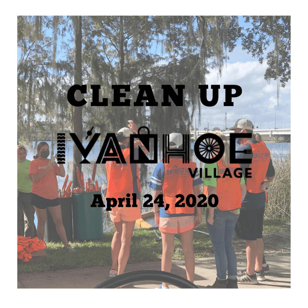 Clean Up Ivanhoe April 2020
